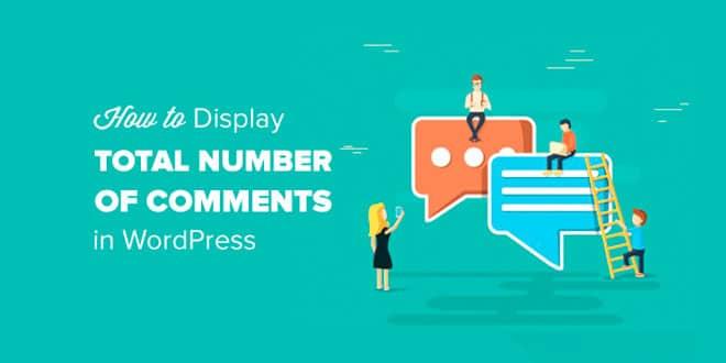 Как отобразить суммарное количество комментариев на вашем сайте WordPress