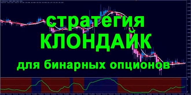 """Стратегия для бинарных опционов """"Клондайк"""""""