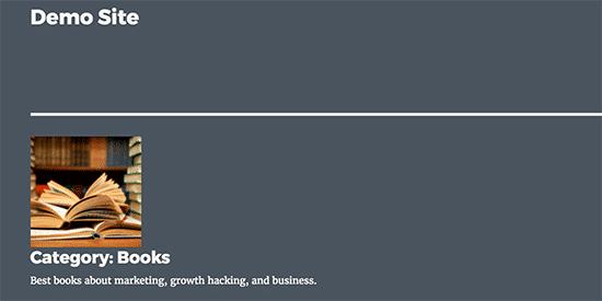пример иконки к рубрикам в WordPress