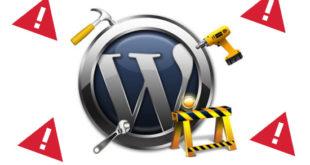 Ошибки WordPress — как исправить