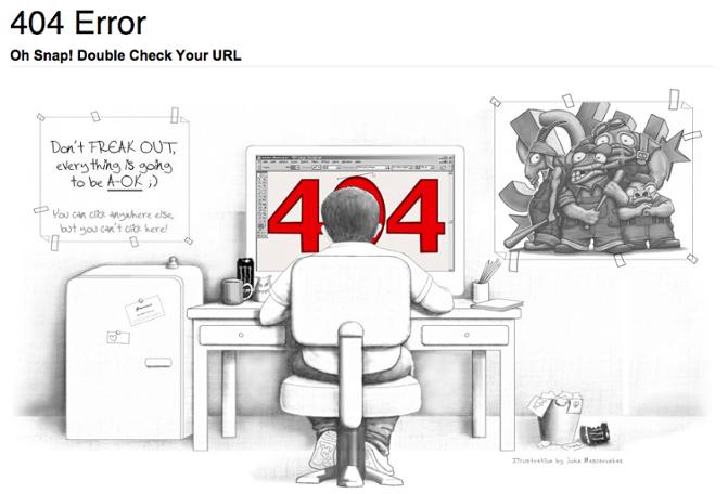 своя страница ошибки 404